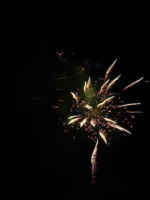 feu d'artifices