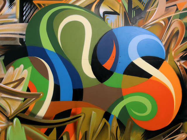 Free Form Flow : Mural & Exhibition.