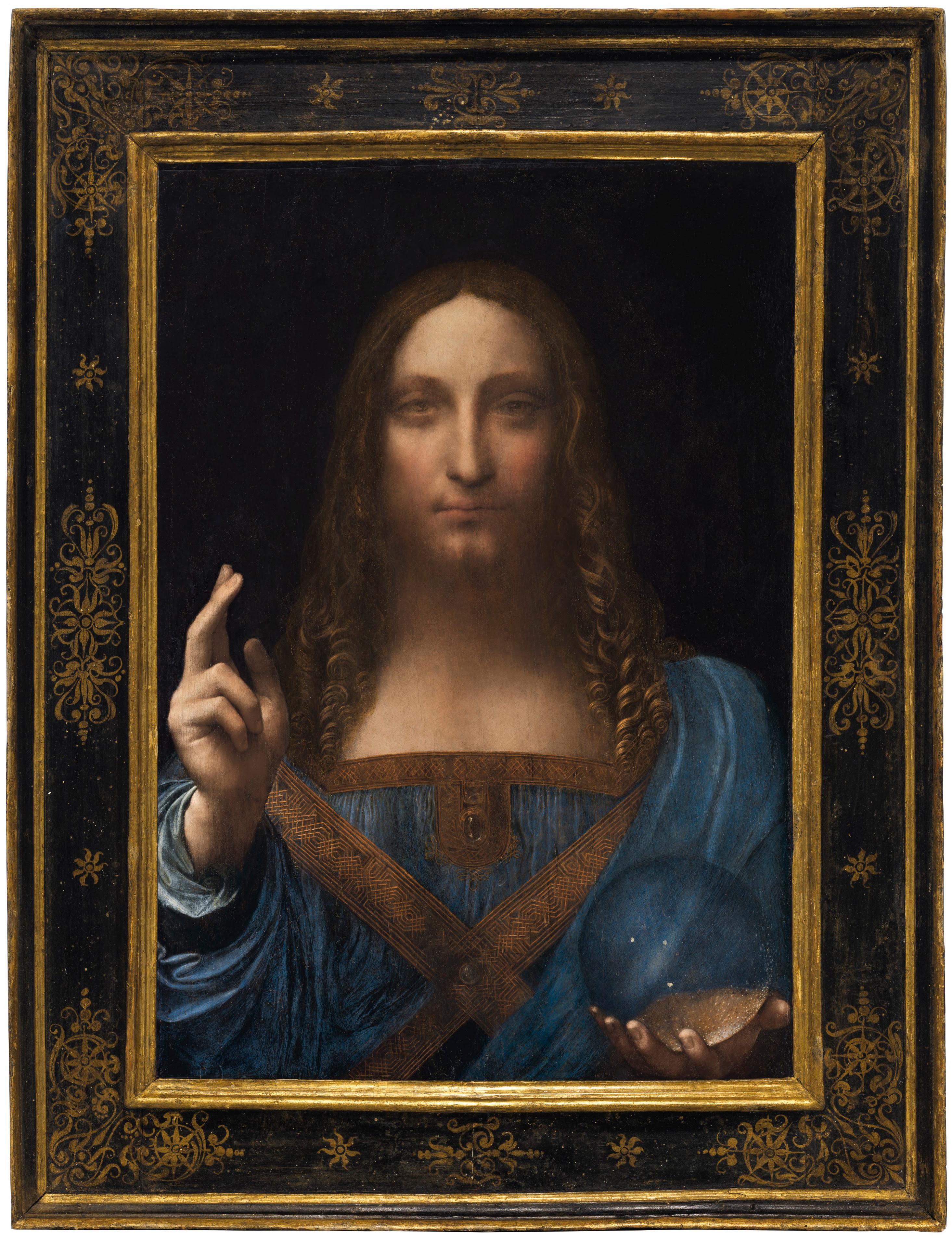 Leonardo Da Vinci Salvator Mundi.