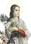 María Goretti, Santa