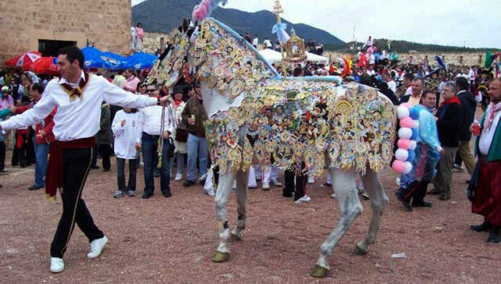 Resultado de imagen de caballos del vino caravaca
