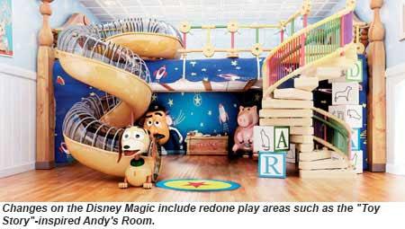 Disney Magic Andys Room rendering
