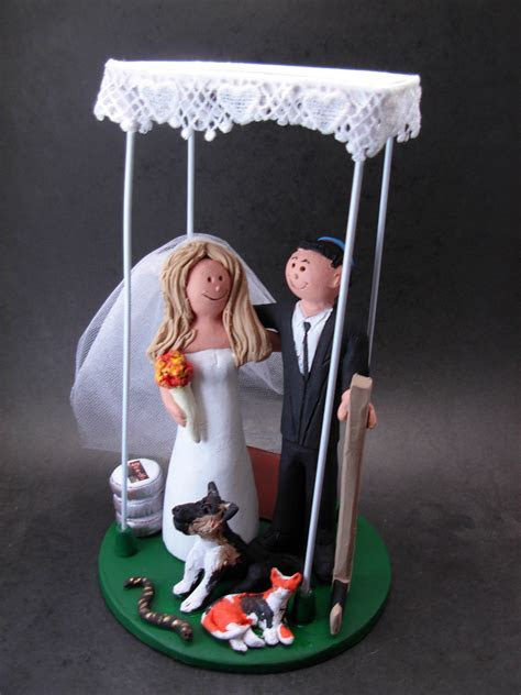 Jewish Wedding Cake Toppers