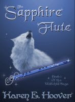 Cover for 'The Sapphire Flute: Book 1 of The Wolfchild Saga'