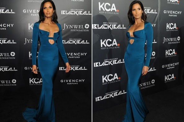Look of the Day, October 31st: Padma Lakshmi's Cushnie et Ochs Gown
