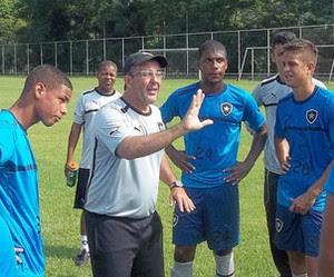 Anthoni Santoro, técnico Botafogo (Foto: Marcos Silva / Site Oficial do Botafogo)