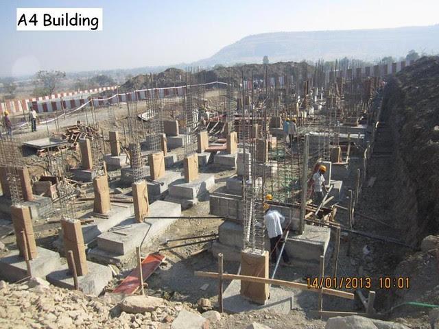 Xrbia Hinjewadi Pune Construction Progress Updates - January 2013