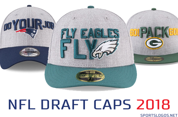 2018 NFL Draft Caps Released  Chris Creamers SportsLogos.Net News and Blog : New Logos and New