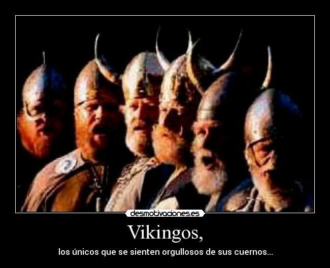 Vikingos Desmotivaciones