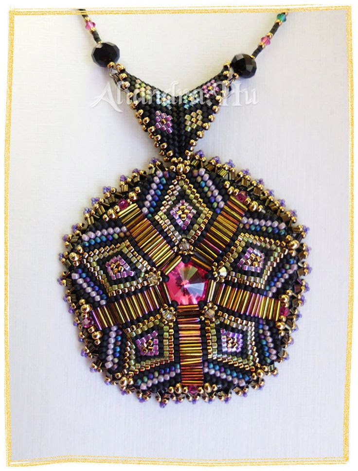 Aliandra hobby gyöngy: Mandala, vagy nem mandala...