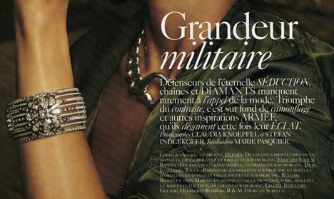 Vogue Paris March 2010 Bijoux