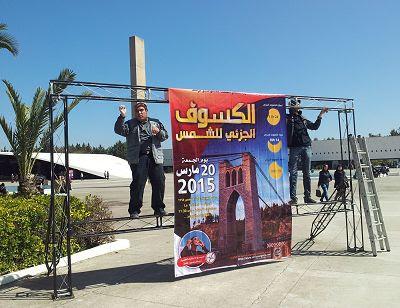 Eclipse 2015 Algeria