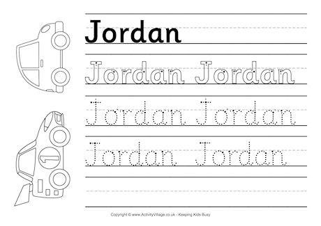 14 Best Images of Create Name Tracing Worksheets  Create Your Own Tracing Name Worksheet, Free