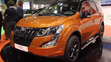 Mahindra XUV500 special edition with dual tone paint revealed autocar India