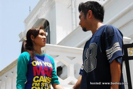 Aqasha & Intan Ladyana Bercinta dalam Telemovie Blueberry Café