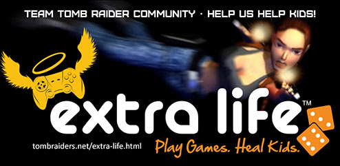 Extra Life - Team Tomb Raider Community