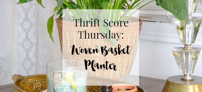 thrift-score-thursday-woven-basket-planter