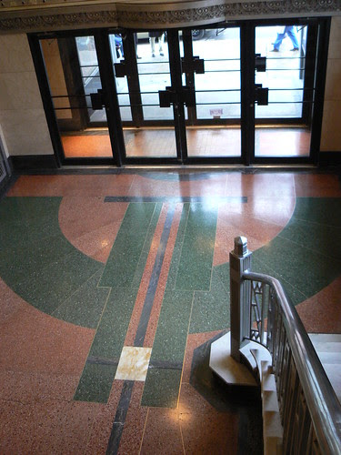 Foyer, Crescent Building, Montreal