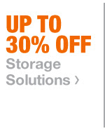 Up To 30% Off Storage Solutions