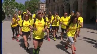 La cursa ha sortit des del Parlament al Parc de la Ciutadella de Barcelona