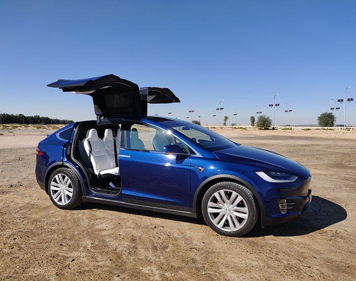 Tesla Model X P100d Arabwheels