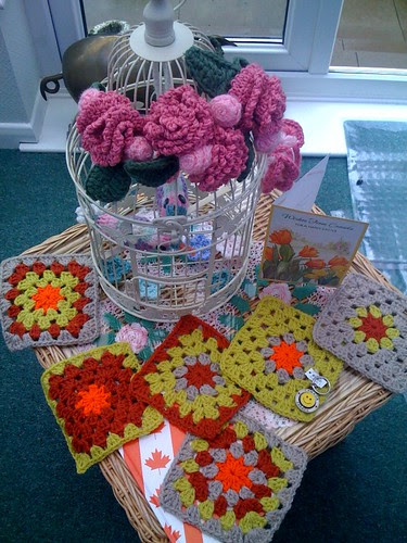 Pattygloria, Canada. Thank you so much your Squares arrived this morning! Really bright and sunny, Thank you!