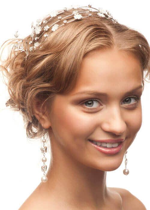 Dainty Susans Hairpiece Wedding