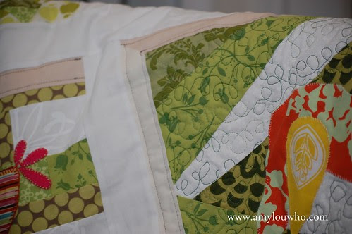 some of the quilting...