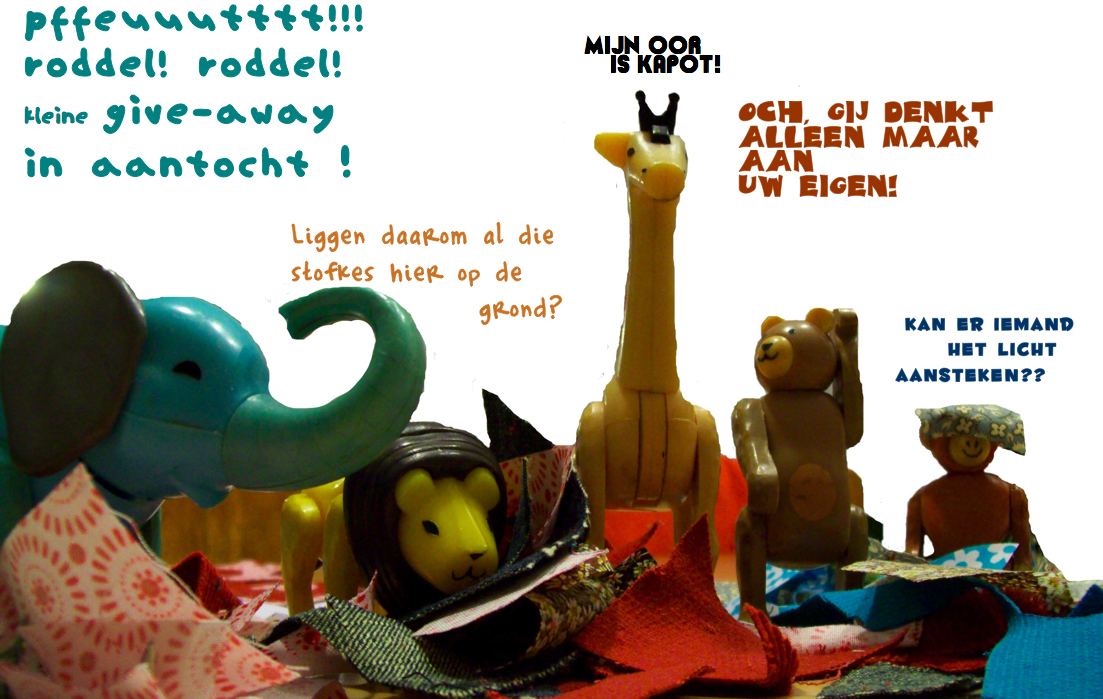 Give-away in aantocht!