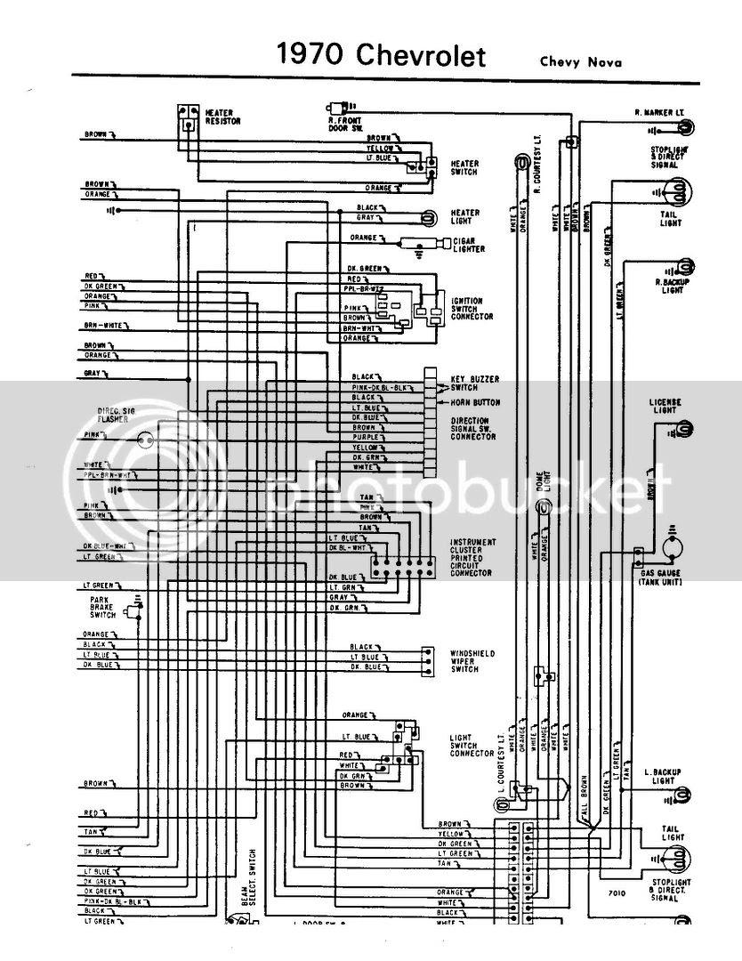 Wrg 4083 70 El Camino Wiring Diagram