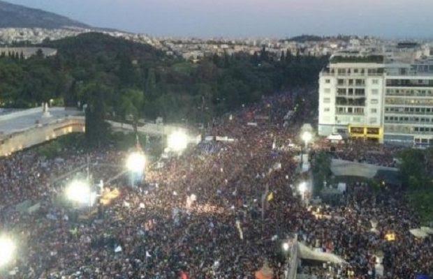 Είμαστε 2 σήμερα… Αύριο μπορούμε να μαζευτούμε 5.000.000 Έλληνες στο Σύνταγμα;;;