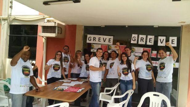 Servidores da Comarca de Pedreiras em GREVE.