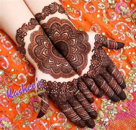 20  Kashee's Mehndi Designs 2018 For Wedding Women