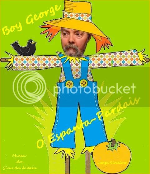 Museu 97 - Boy George, O Espanta-Pardais