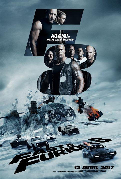 Fast & Furious 8 : Affiche