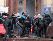 Scontri a Maidan, Kiev (Afp)