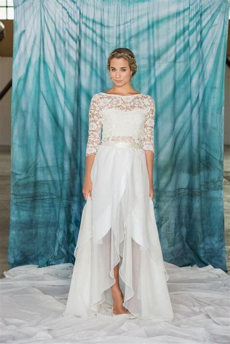 Long Chiffon Wrap Skirt, Chiffon Skirt, Simple Wedding