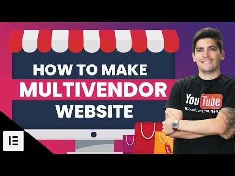 How to Create a Multi Vendor eCommerce Website
