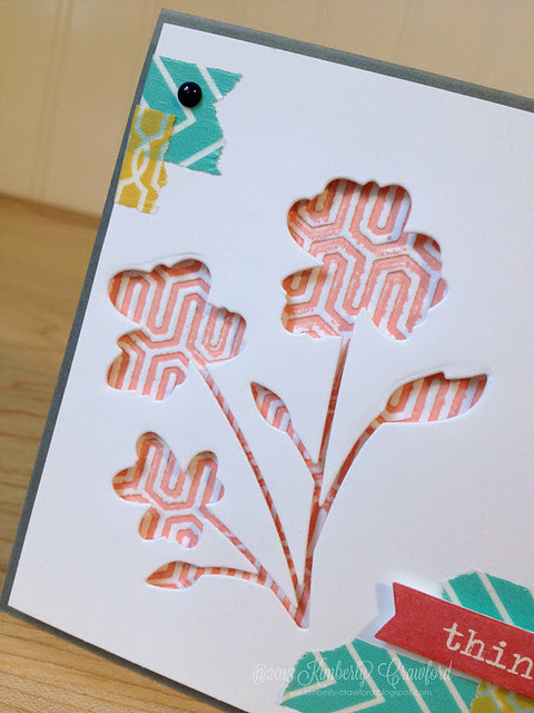 thinking of you letterpress cu by Kimberly Crawford