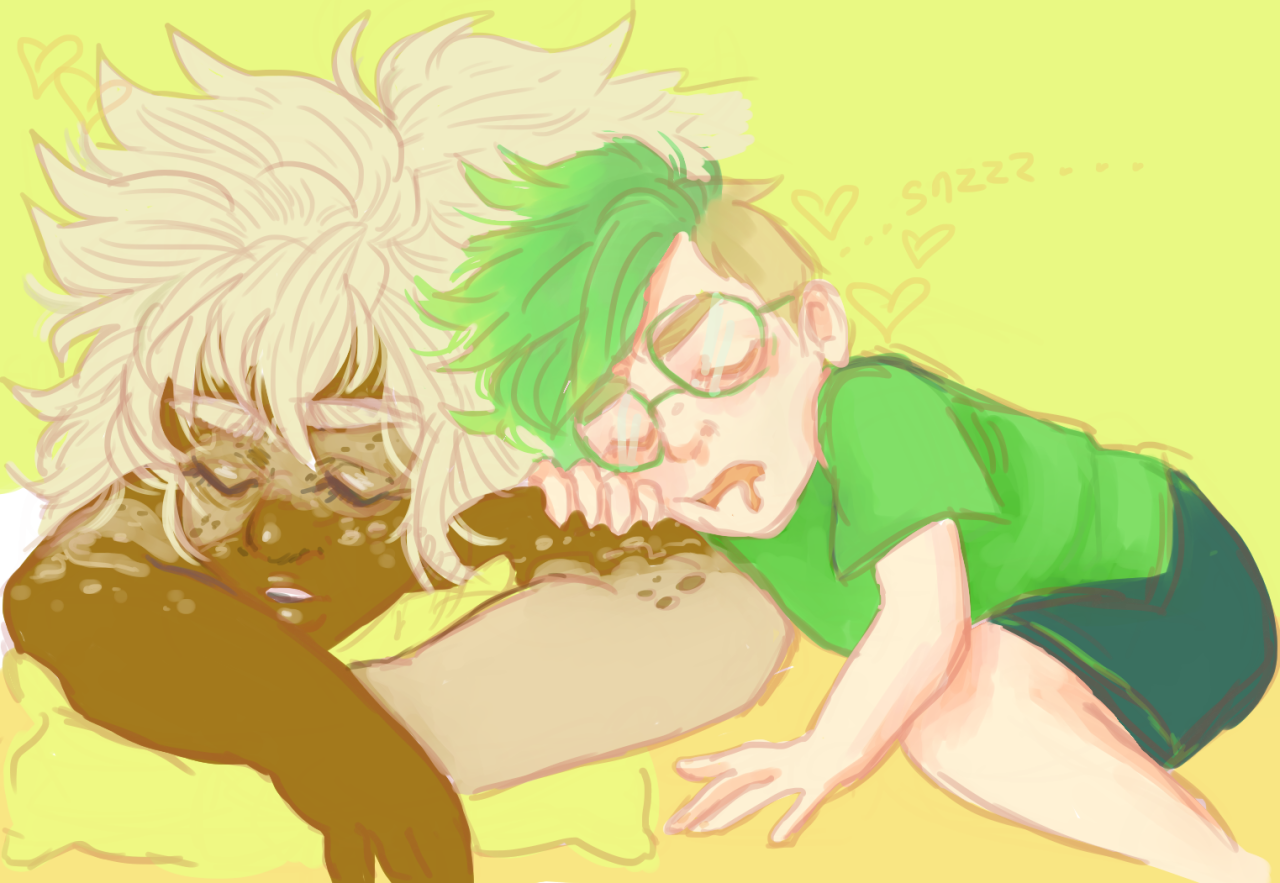 for the person who asked for human verse cuddles