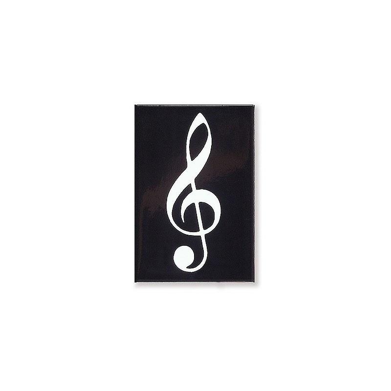 Partituras Y Metodos Musicales Imán Clave De Sol Negro