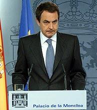 El presidente del Gobierno Español don José Luis Rodrigez Zapartero
