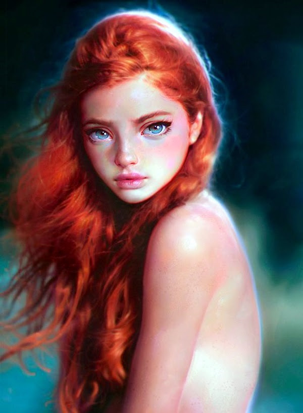 Spectacular Digital Painting Portraits (35)