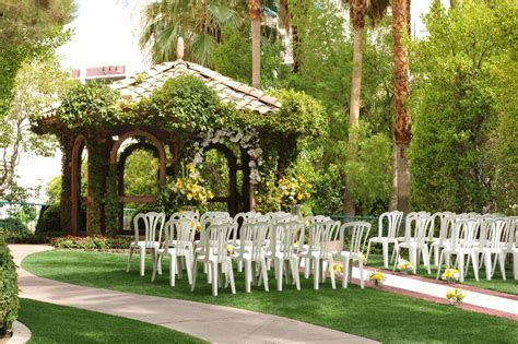The Gazebo #Wedding Chapel at Flamingo Hotel & Casino Las