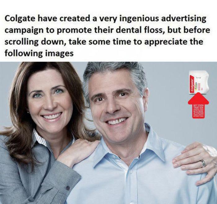 Iklan Kreatif Dari Colgate