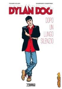 Giampiero Casertano a Milano con Dylan Dog