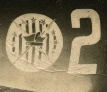 Godło 111 Eskadry Myśliwskiej - zbliżenie