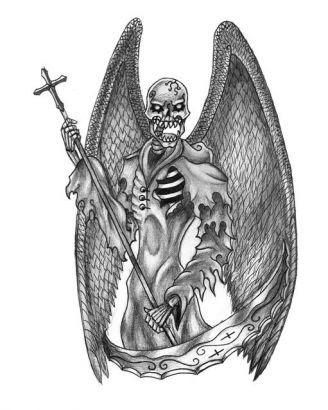 Grim Reaper Tattoos Pic Free