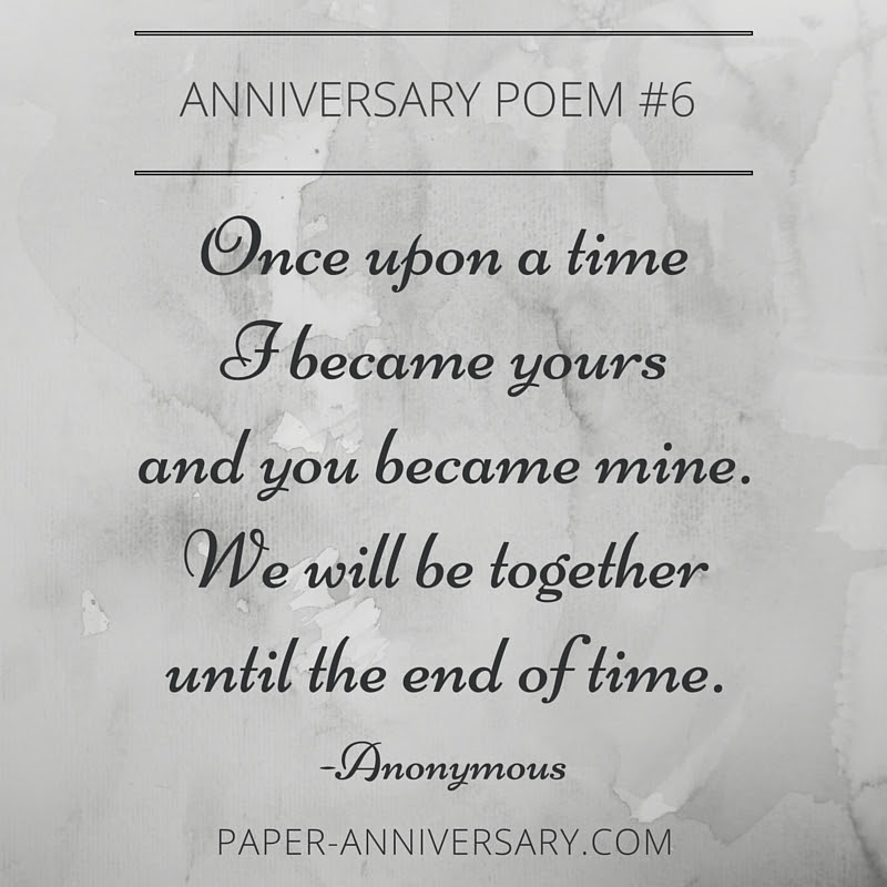 Anniversary Poems For Him Paper Anniversary By Anna V