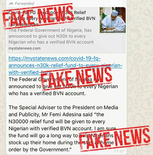 FG Is Not Sharing ₦30,000 To Nigerians, Ignore Any Website Saying They Are (Read Details)